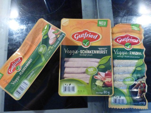 Gutfried Veggie 4 - Produkttest: Gutfried Veggie Sortiment