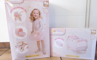 HAUCK Little Diva 4 400x250 - Produkttest - Hauck Little Diva Puppenwagen und Reisebett