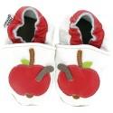 HEBA Krabbelschuhe Apfel 125x125 - Osterkalender, 13. Türchen: Krabbelschuhe und Lauflernschuhe von Hobea