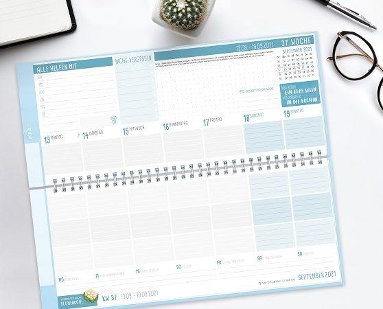 Adventskalender Tür 15: Häfft Familien Kalender 2021