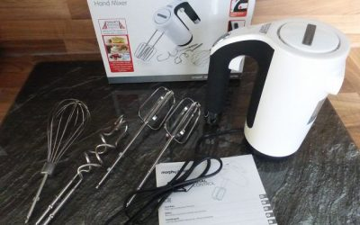 Handmixer Morphy Richards Total Control 400505EE 4 400x250 - Produkttest: Handmixer Morphy Richards Total Control 400505EE