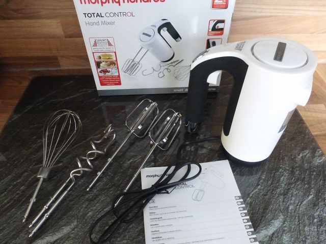 Handmixer Morphy Richards Total Control 400505EE 4 - Produkttest: Handmixer Morphy Richards Total Control 400505EE