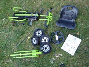 Hauck Toys Go Kart Lightning green 5 300x225 - Produkttest: Hauck Toys Go-Kart Lightning green
