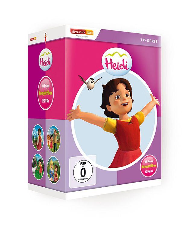Gewinnspiel: Heidi Box 3D Animations-Serie auf 12 DVDs