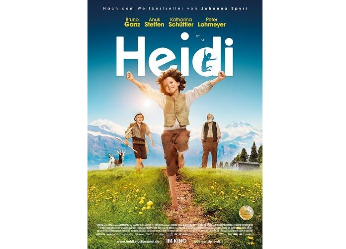 Gewinnspiel: Realverfilmung von Heidi