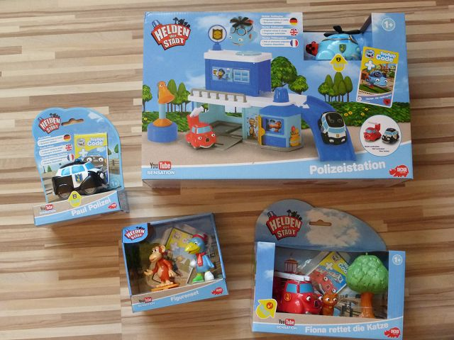 Produkttest: Helden der Stadt Spielzeug von Dickie Toys