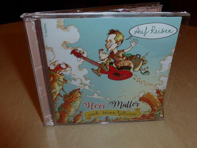 Rezension: CD Herr Müller und seine Gitarre – Auf Reisen