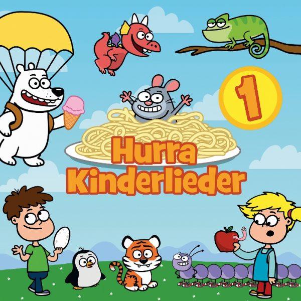 Hurra Kinderlieder 600x600 - Hurra Kinderlieder - Rezension und Gewinnspiel
