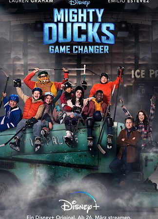 "MIGHTY DUCKS: GAMECHANGER"" ab 26. März exklusiv auf Disney+"
