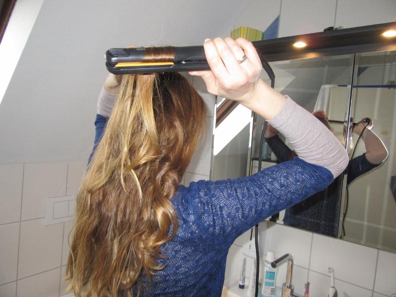 Goldwell Kerasilk Flat Glätteisen vom Golden-Hairshop im Test