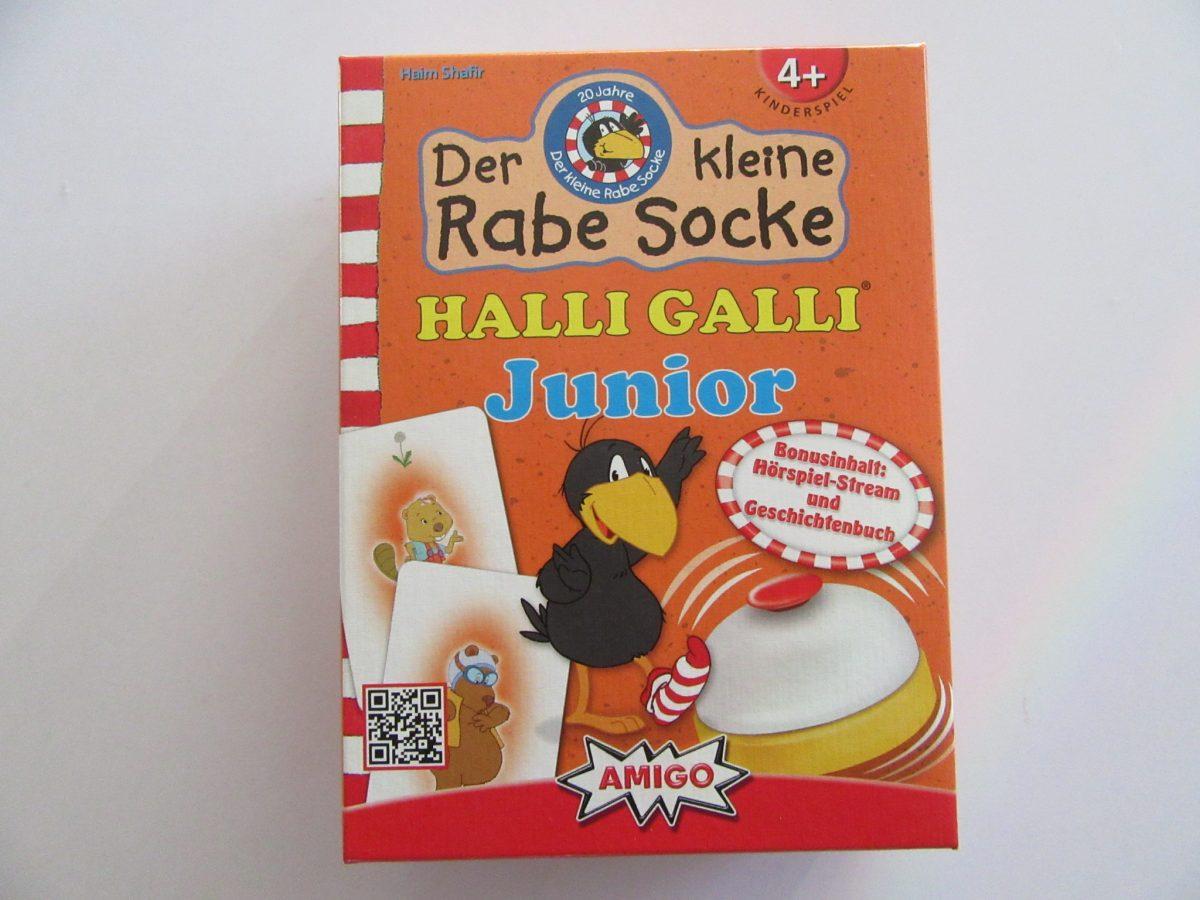 Tester gesucht: Der kleine Rabe Socke Halli Galli Junior von AMIGO