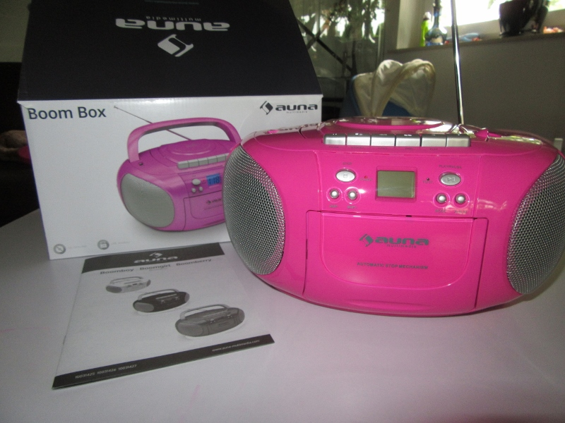 Produkttest: auna BoomGirl Boom Box