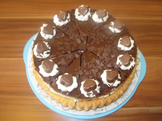 Rezept: Milkaherzen-Bananen-Torte