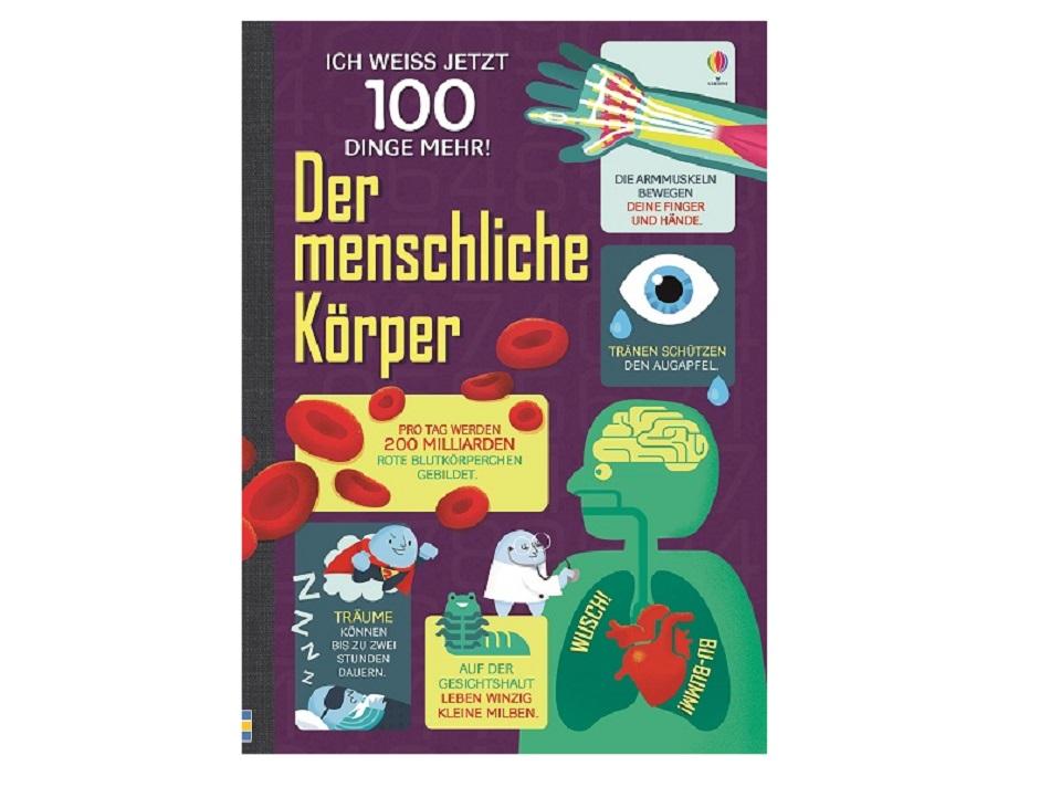 Gewinnspiel: Buch Ich weiß jetzt 100 Dinge mehr Der menschliche Körper