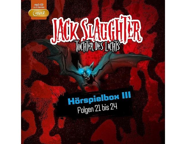 Rezension: Jack Slaughter – Tochter des Lichts Hörspielbox Folgen 21 bis 24