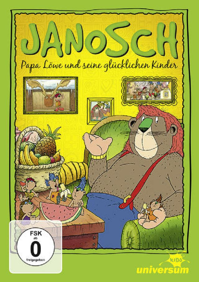 Gewinnspiel: DVD Janosch – Papa Löwe und seine glücklichen Kinder