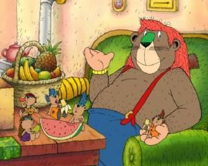 Janosch - Papa Löwe und seine glücklichen Kinder (3)