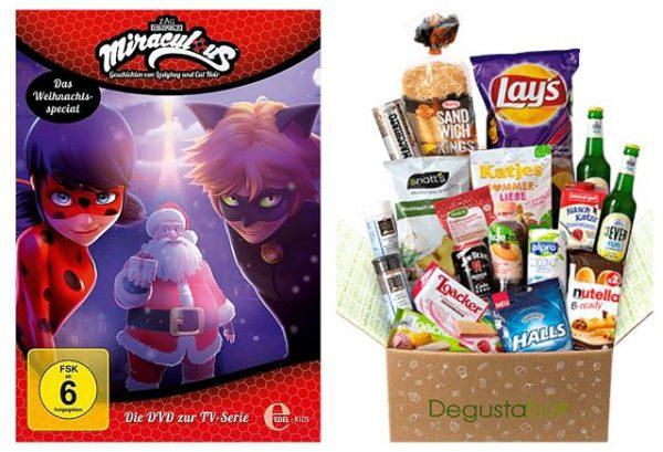 Januar Degustabox und Miraculous – Weihnachts-Special