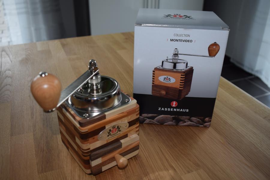 """Produkttest: Kaffeemühle """"Montevideo"""" von Zassenhaus"""