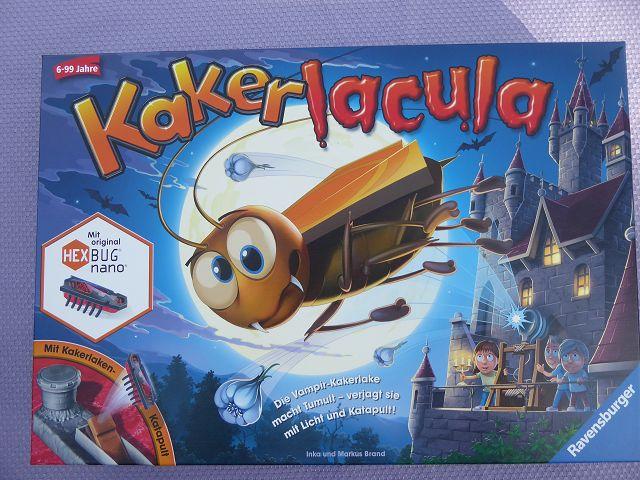 Rezension: Spiel Kakerlacula von Ravensburger