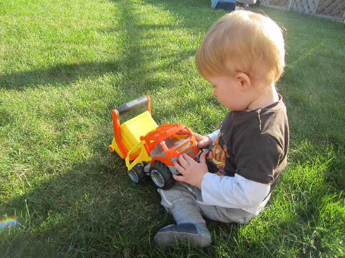 Sandspielzeug Bagger im Test