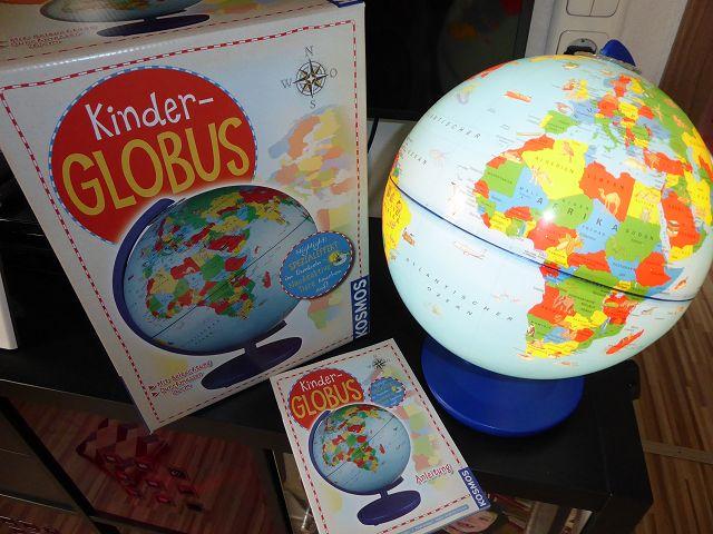 Produkttest: Kinder Globus mit Licht von Kosmos