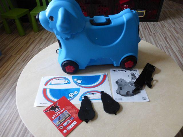 Kinderkoffer BIG Bobby Trolley blau 6 - Produkttest: Kinderkoffer BIG-Bobby-Trolley blau