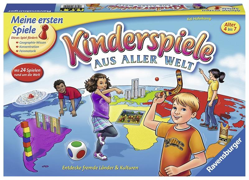 Ravensburger – Kinderspiele aus aller Welt -Rezension/Gewinnspiel