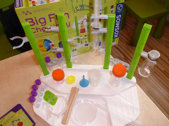 Produkttest: Kosmos Big Fun Chemistry Experimentier – Station
