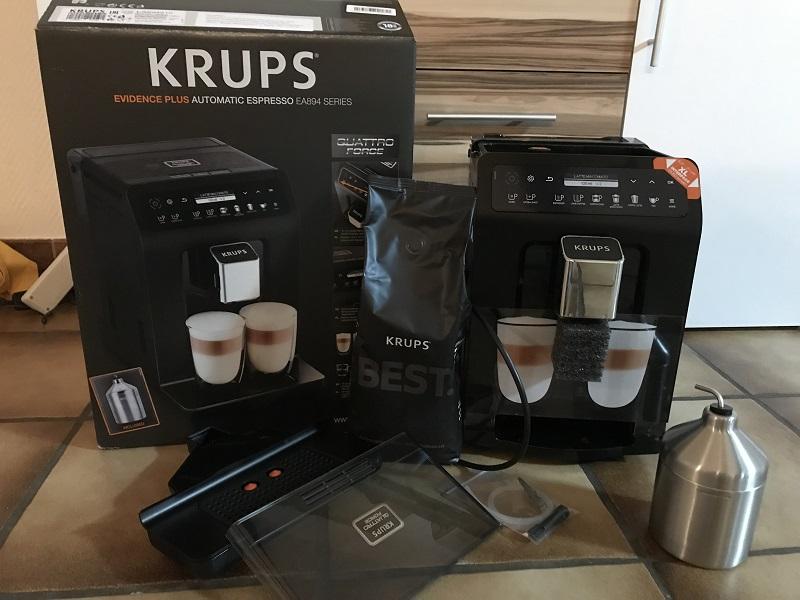Krups Evidence Plus-Erster Eindruck