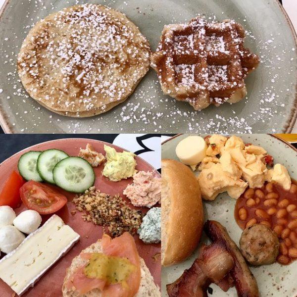 Kurzurlaub im Tropical Islands Brandenburg Frühstück