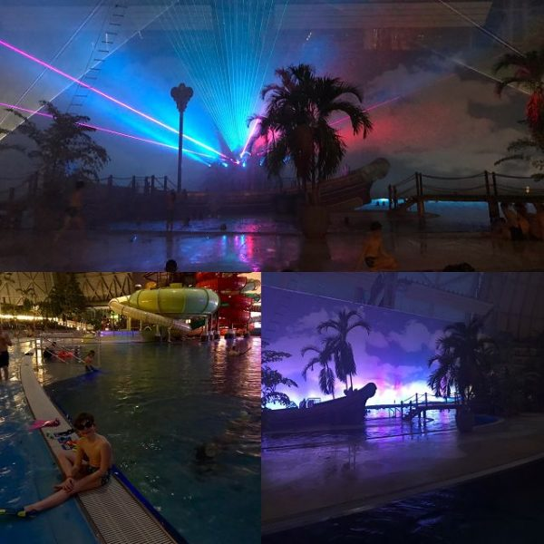 Kurzurlaub im Tropical Islands Brandenburg Südsee Laser Show