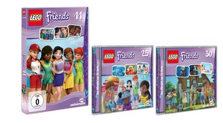 LEGO Friends DVD 11, CD 29 und CD 30 – Gewinnspiel