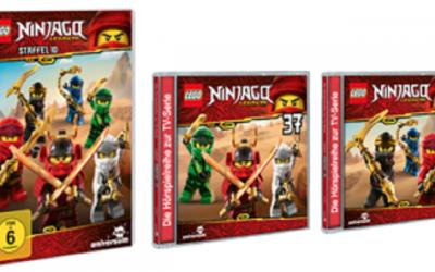 LEGO NINJAGO DVD und CDs 400x250 - LEGO NINJAGO - Staffel 10 DVD und CDs - Gewinnspiel