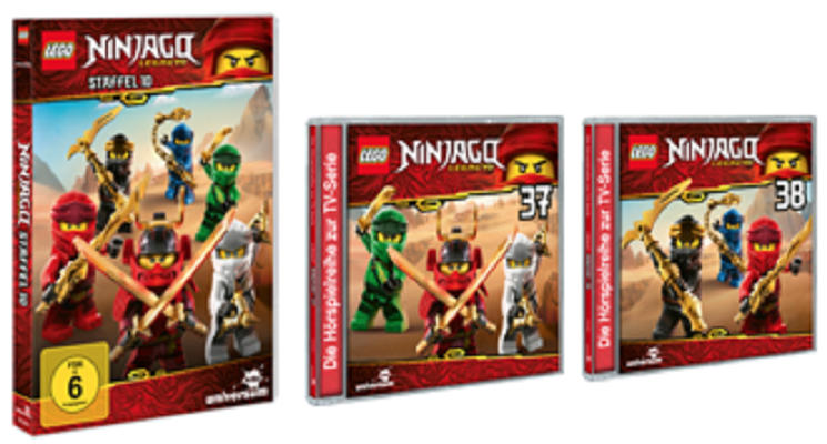 LEGO NINJAGO – Staffel 10 DVD und CDs – Gewinnspiel