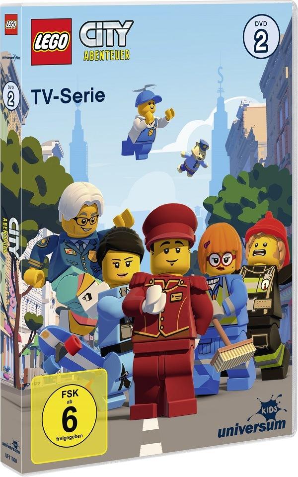 Gewinnspiel LEGO City DVD2, CD 3 und 4