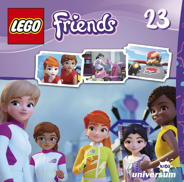 LEGO Friends CD 23 1 - Gewinnspiel/Rezension: LEGO Friends DVD 8, CD 23,24