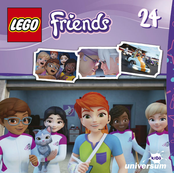 LEGO Friends CD 24 1 - Gewinnspiel/Rezension: LEGO Friends DVD 8, CD 23,24