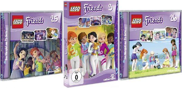 LEGO Friends DVD9 CD25 CD26 600x292 - LEGO Friends - DVD 9, CDs 25 und 26 - Gewinnspiel