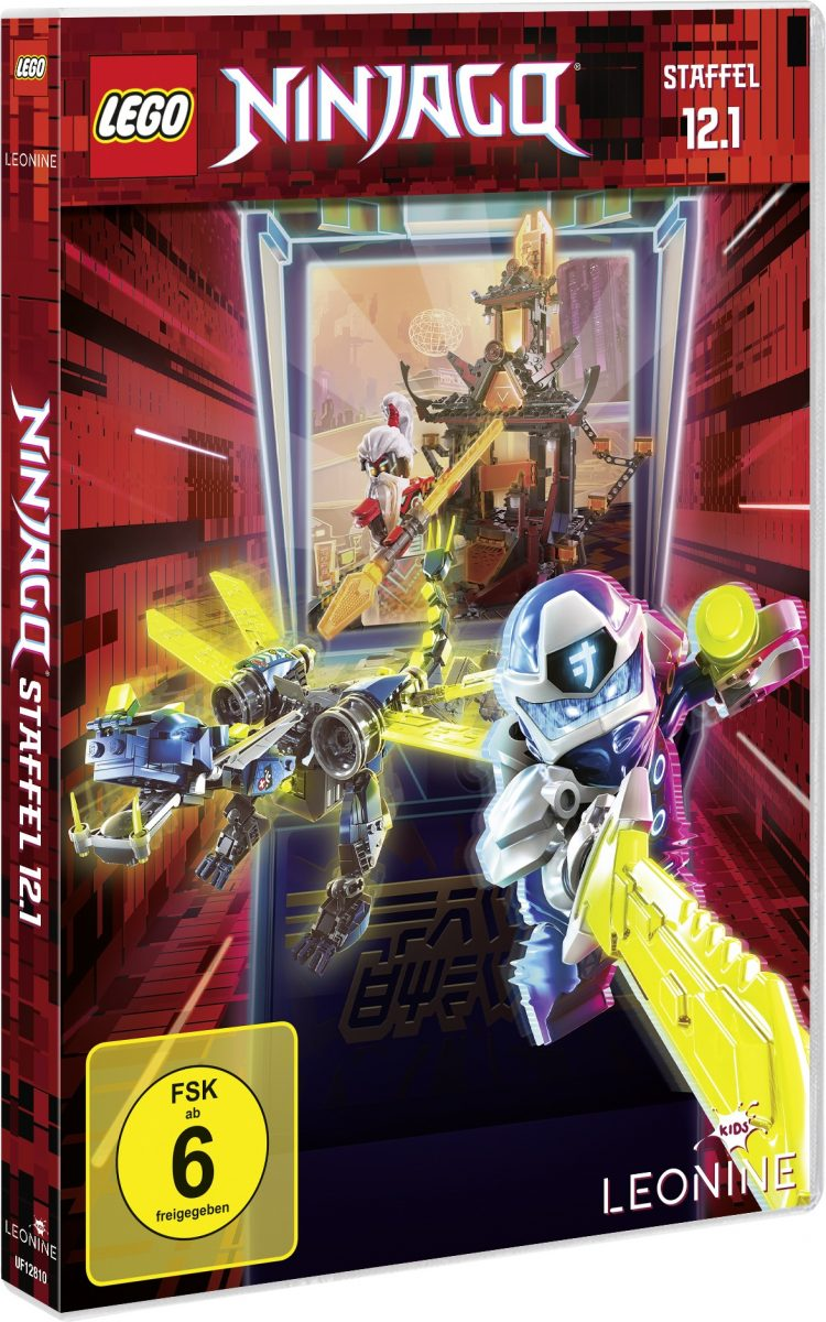 Gewinnspiel-LEGO Ninjago DVD 12.1, CD 45 und CD 46