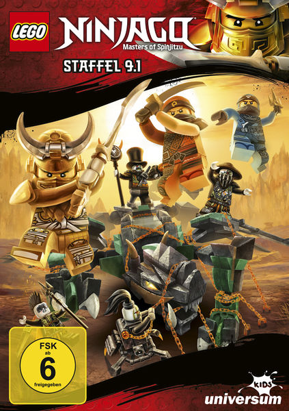 LEGO Ninjago Staffel 91 DVD - Gewinnspiel Lego Ninjago CD 33, 34 und DVD 9.1