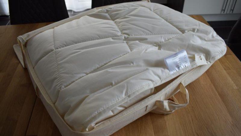Leichte Bettdecke von  La Modula im Test
