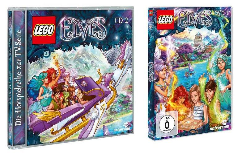 Gewinnspiel: LEGO Elves auf DVD und CD