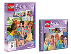 Lego Friends 2 - LEGO Friends DVD 7 und CD 21 - Gewinnspiel - Rezension