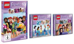 Gewinnspiel – LEGO Friends DVD12, CD31 und 32
