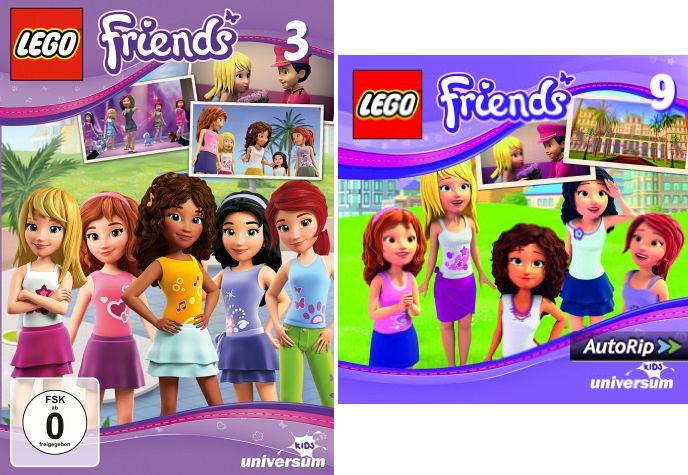 Lego Friends DVD 3 und CD 9 (1) - Kopie