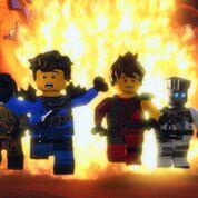 Lego Ninjago 3 - Gewinnspiel Lego Ninjago CD 33, 34 und DVD 9.1