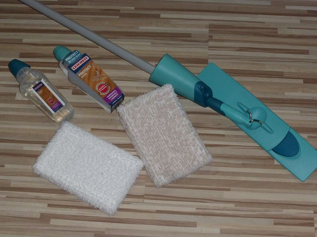 Leifheit Care Protect Pflege System für Holzböden 2 - Produkttest: Leifheit Care & Protect Pflege-System für Holzböden