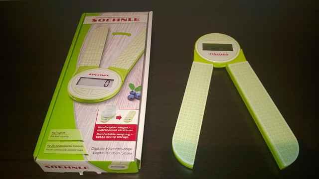 Leifheit Soehnle Genio Küchenwaage 1 - Produkttest: Leifheit Soehnle Genio Küchenwaage