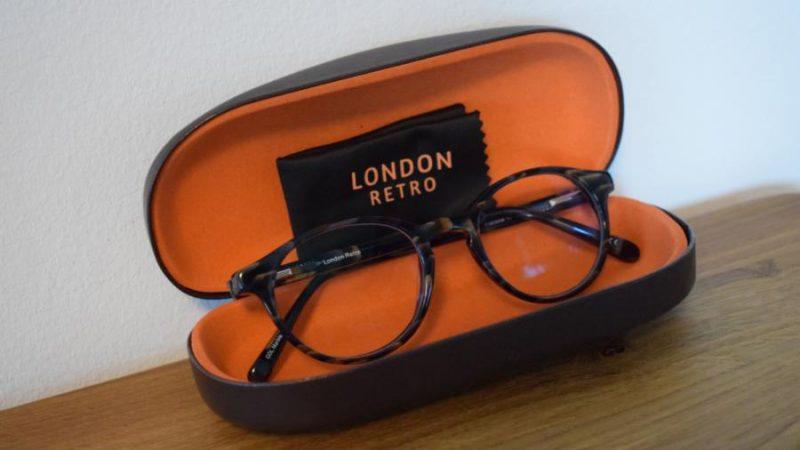 Produkttest: London Retro Brille von Lensbest
